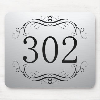 302 Area Code Mousepad