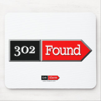 302 - Found Mouse Pad