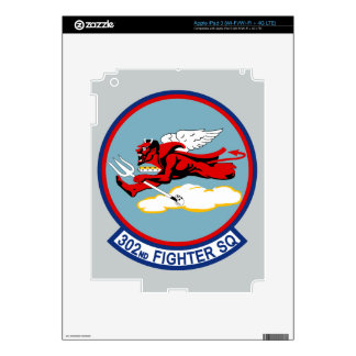 302nd Fighter Squadron iPad 3 Decal