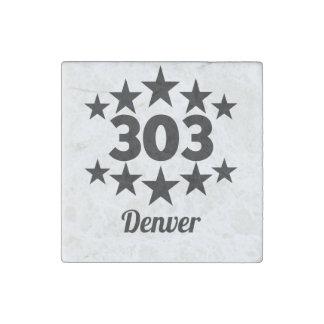 303 Denver Imán De Piedra