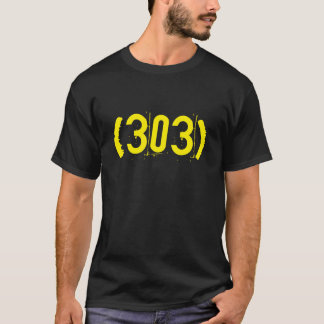"""(303) """"Fight and Destroy"""" T-Shirt"""