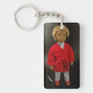 303 Gregor pajamas (Sasha) Keychain