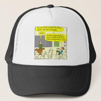 303 metric system math cartoon trucker hat