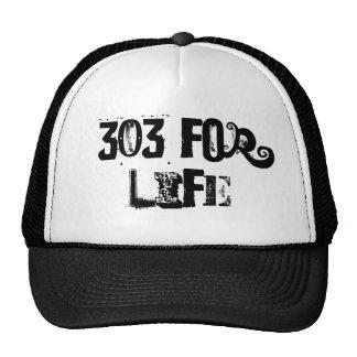 303 para la vida gorras de camionero