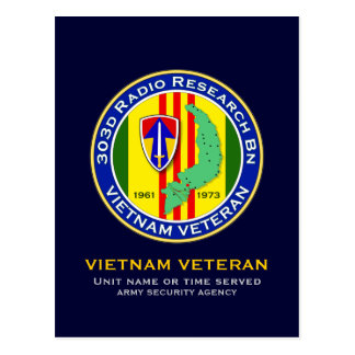 303d RR Bn 2 - ASA Vietnam Postcard