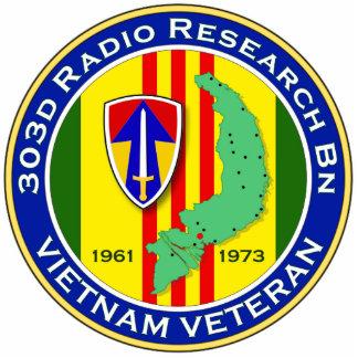303d RR Bn 2 - ASA Vietnam Statuette