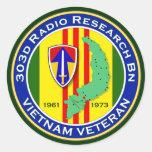 303d RR Bn 2 - ASA Vietnam Stickers