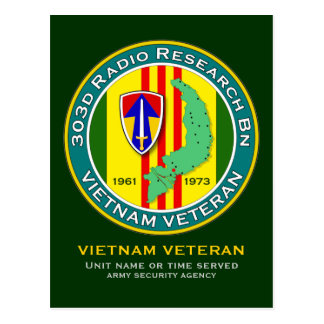 303d RR Bn - ASA Vietnam Postcard