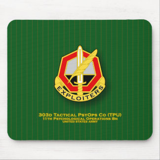303d Tactical Psychological Operations Co TPU DUI Mouse Pads