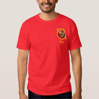 303o Muestra de encargo de la camisa w/Call del FS