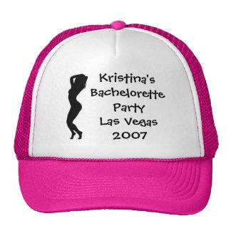 30413, Hot Chicks Bachelorette Party Las Vegas 200 Trucker Hat