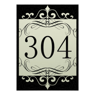 304 Area Code Poster