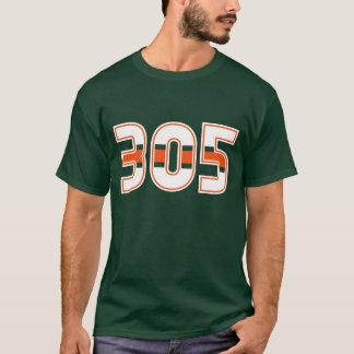 305 Area Code T-shirt