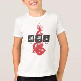 305 dragón el Taekwondo Playera
