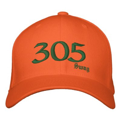 305 Rep Embroidered Hats