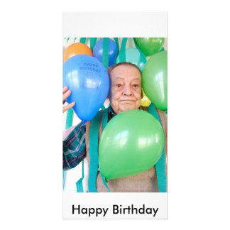 3061 Suprise birthday party for an ederly man, ... Card