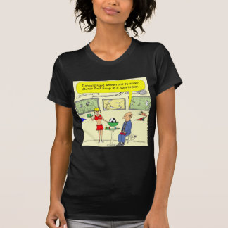 307 matzo ball sports bar cartoon shirt
