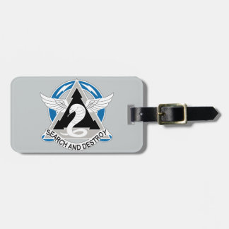 307th Aviation Battalion - Search And Destroy Bag Tag