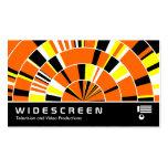 309 con pantalla grande - Rayos 04 del pi Plantillas De Tarjetas Personales