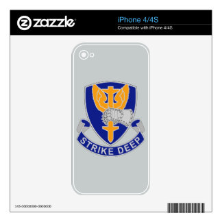 309th Aviation Battalion - Strike Deep Skins For iPhone 4S