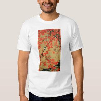30. 紅葉小禽図, 若冲 Maple & Small Birds, Jakuchū T-shirt