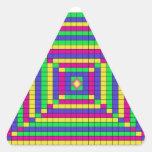 30.30.100 design triangle stickers