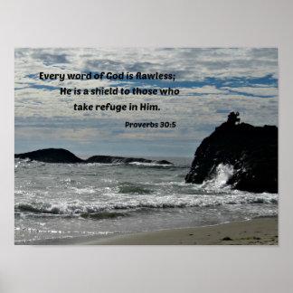 30:5 de los proverbios cada palabra de dios es sin póster
