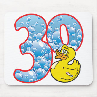 30 Age Duck Mouse Pad