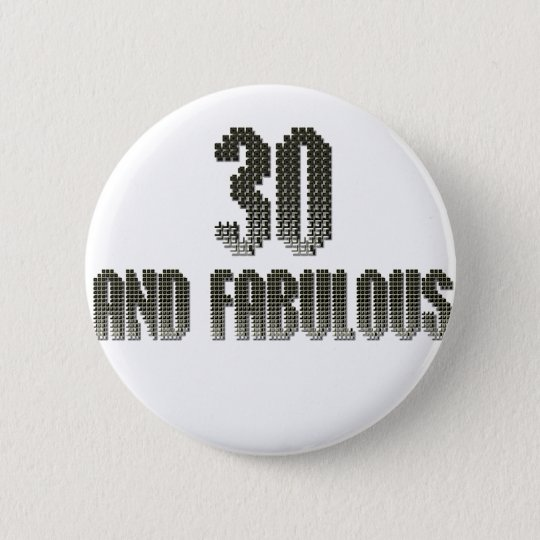 30 and fab disco theme button