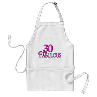 30 and Fabulous Adult Apron