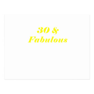 30 and Fabulous Postcards