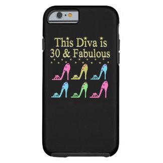 30 AND FABULOUS SHOE QUEEN DESIGN TOUGH iPhone 6 CASE