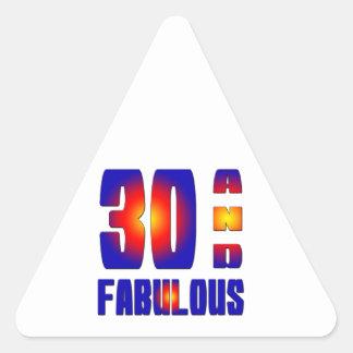 30 And Fabulous Sticker