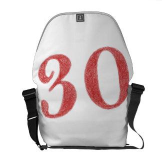 30 años de aniversario bolsas messenger