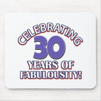 30 años de fabulousity alfombrillas de raton