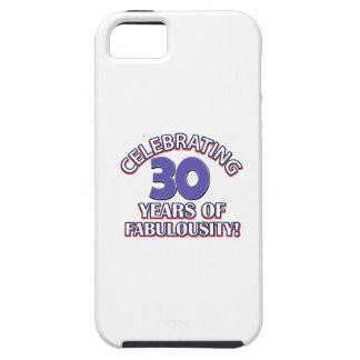 30 años de fabulousity iPhone 5 carcasas