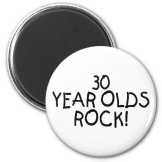 30 años de la roca imán de nevera
