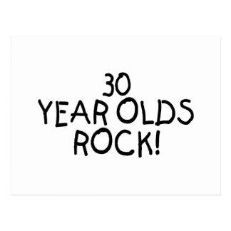 30 años de la roca tarjetas postales