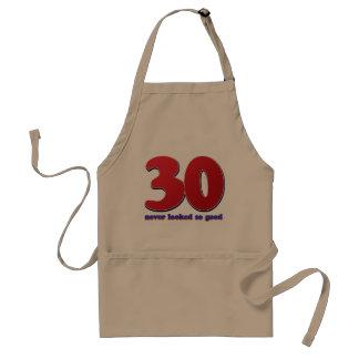 30 años delantal