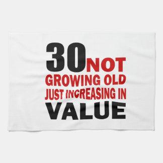 30 apenas viejos diseños cada vez mayor del toalla