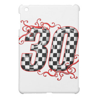 30 auto racing number iPad mini case