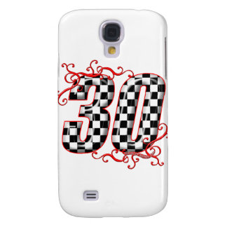 30 auto racing number samsung galaxy s4 case