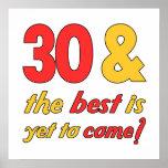 30 Best Birthday Gifts Poster