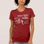 30 Birthday Gift 1984 or Any Year Vintage Brew V27 Tee Shirt