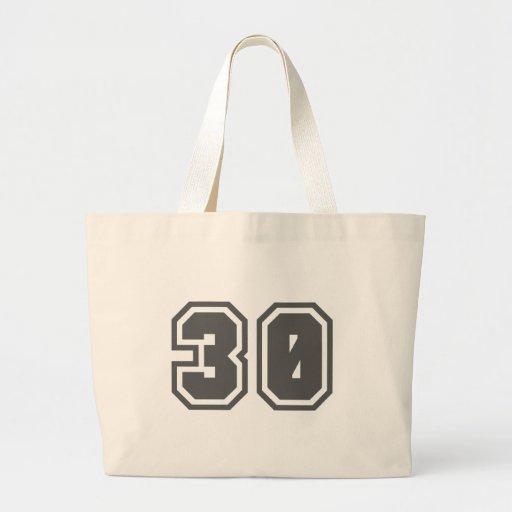 30 BOLSAS
