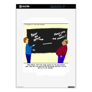 30 business plan cartoon decals for the iPad 2