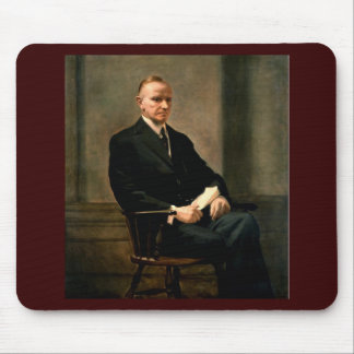 30 Calvin Coolidge Mouse Pad