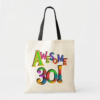 30 camisetas y regalos impresionantes del cumpleañ bolsa lienzo