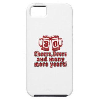 30 Cheers Beers Birthday Designs iPhone SE/5/5s Case