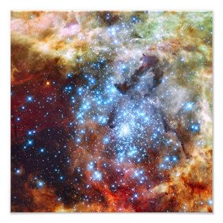 30 cúmulos de estrellas de la nebulosa de Doradus Impresión Fotográfica